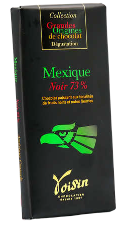 Tablette Chocolat Noir Mexique