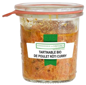 Tartinable Poulet Curry BIO