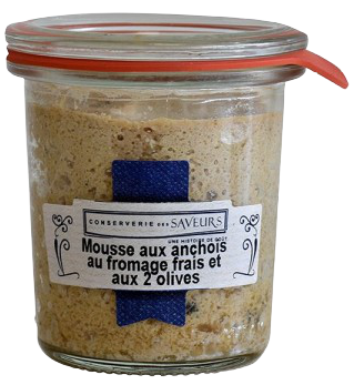 Mousse Anchois Fromage & Olives