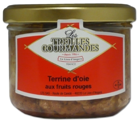 Terrine d'Oie Aux Fruits Rouges